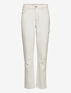 Lincoln worker pant Ecru - jeans droites - 03 ecru
