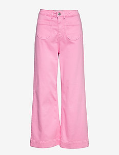McCartney flare jeans colour - BLUSH