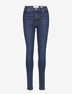 Bowie HW skinny wash Stockholm - skinny jeans - 51 denim blue