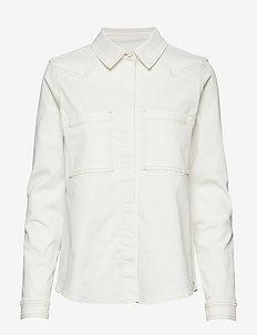 Bowie Ecru shirt - ECRU