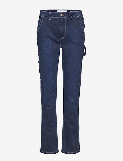 Lincoln worker pant wash Hounston - utsvängda jeans - 51 denim blue