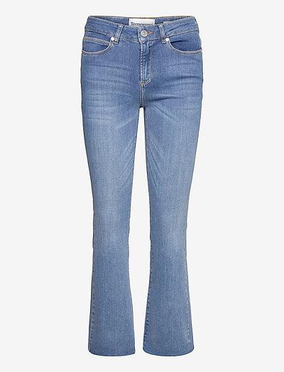 Malcolm kick flare wash Savannah - skinny jeans - denim blue