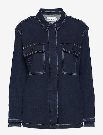 Lincoln worker jacket wash Hounston - denimjakker - 51 denim blue