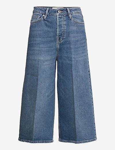 Mandela Culotte Hong Kong - wide leg jeans - denim blue