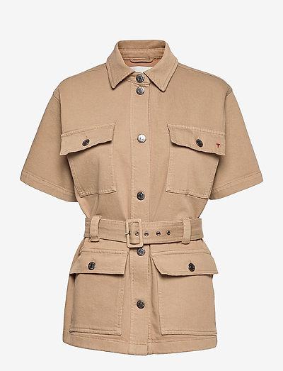 Mandela SS pocket jacket Khaki - utility-jakker - khaki