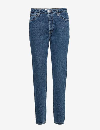 Hepburn HW mom wash Bright Orlando - mom jeans - denim blue