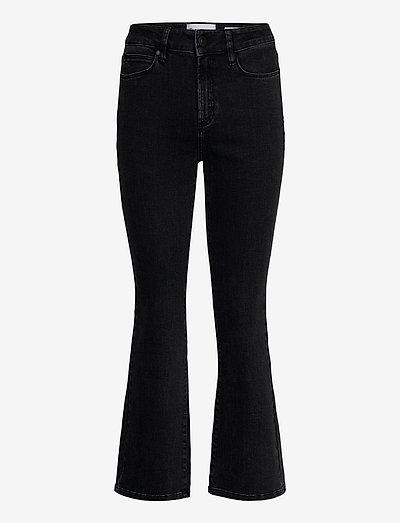 Malcolm kick flare original black - utsvängda jeans - 9 black
