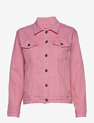 Dylan jacket colour - denimjakker - blush