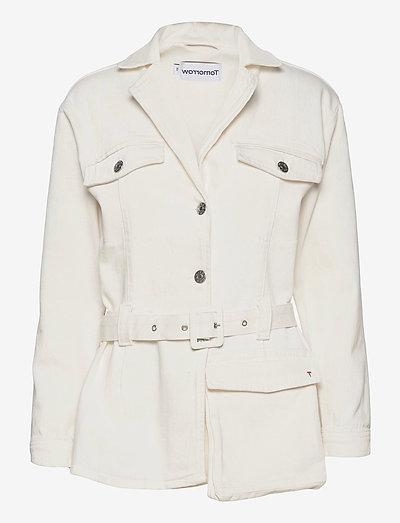 Jackson uniform jacket - vestes utilitaires - ecru