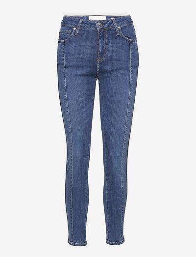 Dylan MW cropped wash Texas - skinny jeans - 51 denim blue