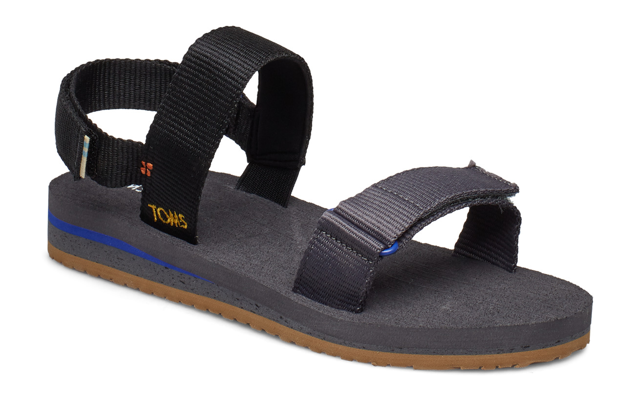TOMS Solid Webbing Ray - BLACK