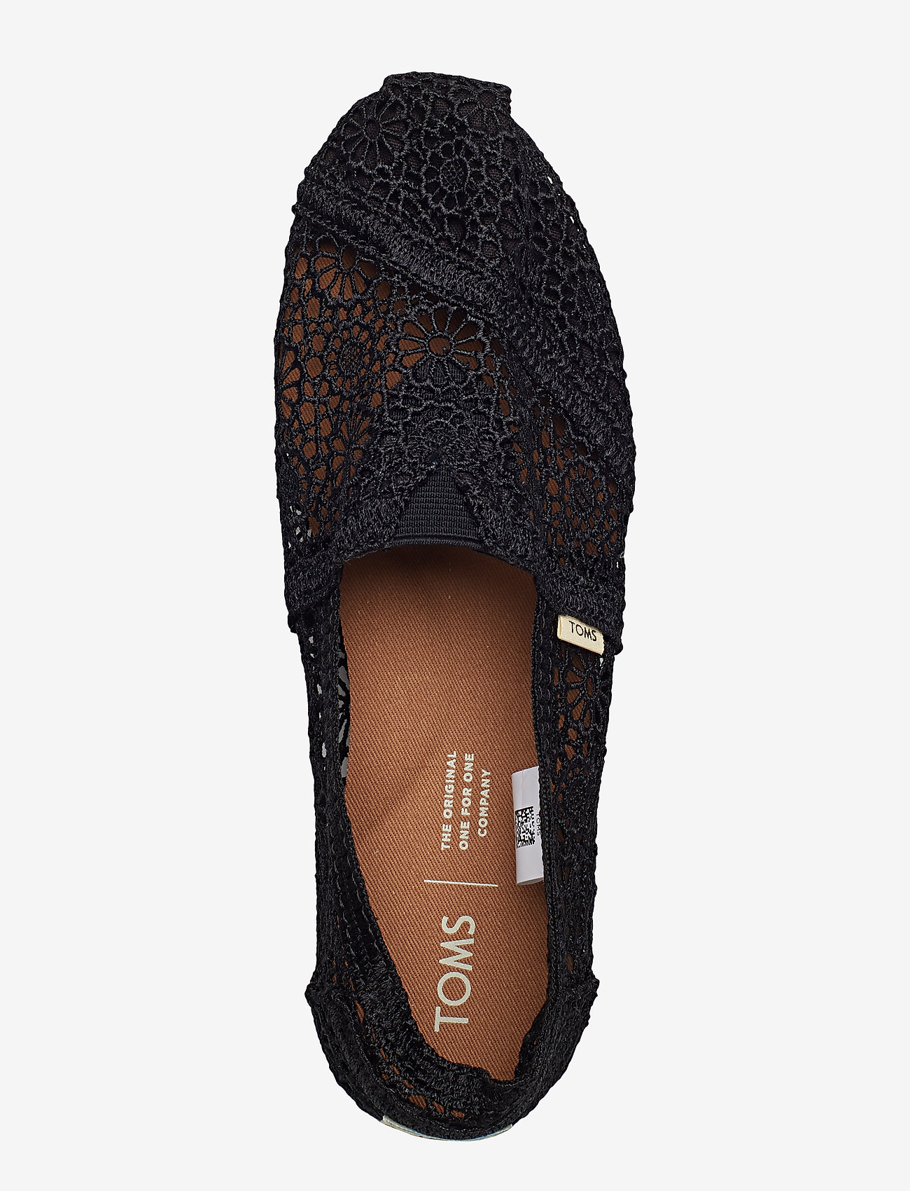 Black Moroccan Crochet (Black) - TOMS