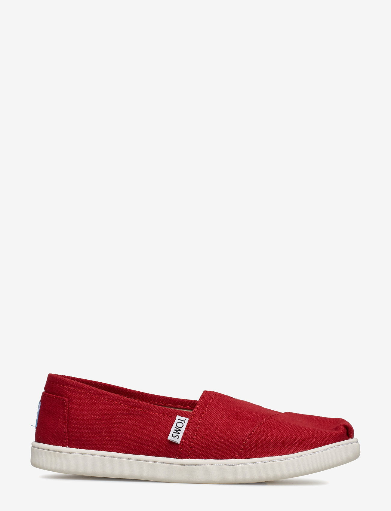 TOMS - Red Canvas - ballerinaer & slip-ons - red - 1