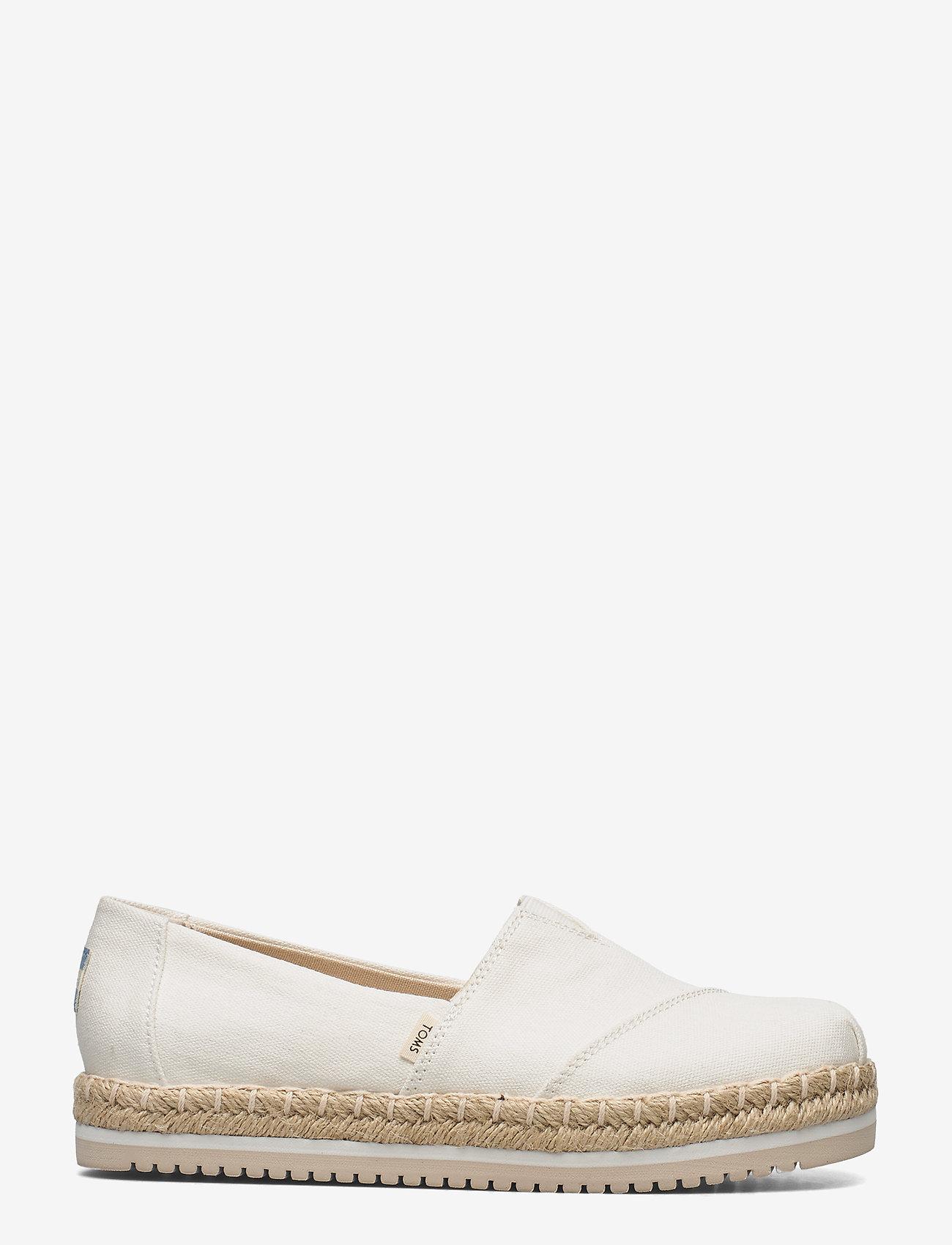 TOMS - White Canvas - platta espadriller - white - 1
