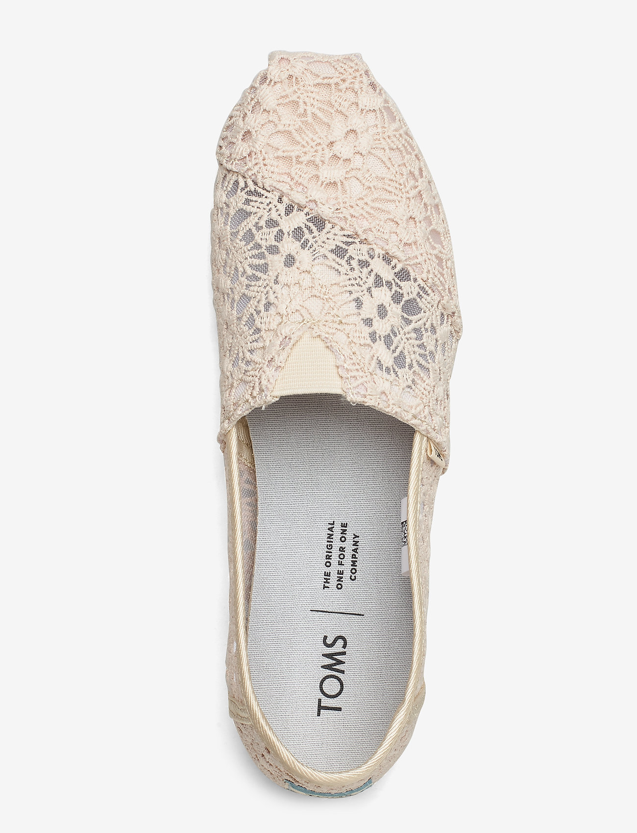 Natural Floral Lace (Natural) - TOMS