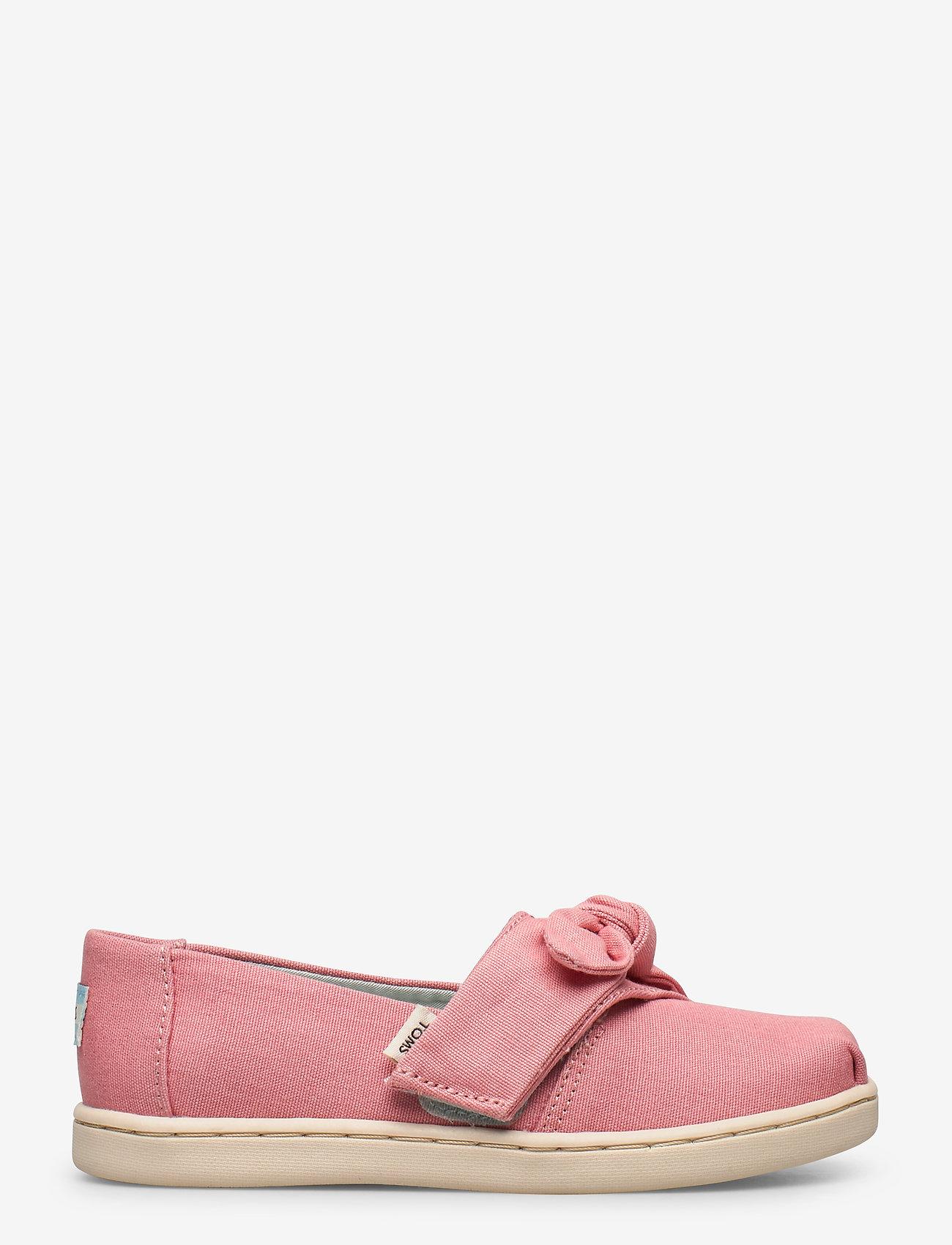 TOMS - Dye Pink Canvas - ballerinaer & slip-ons - plant dye pink - 1