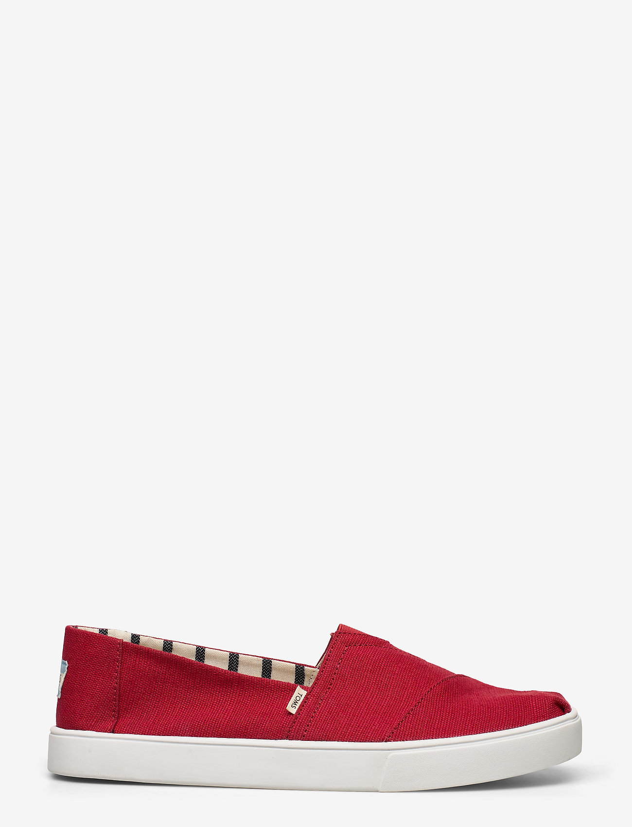TOMS - Red Heritage Canvas - espadrillos - red - 1