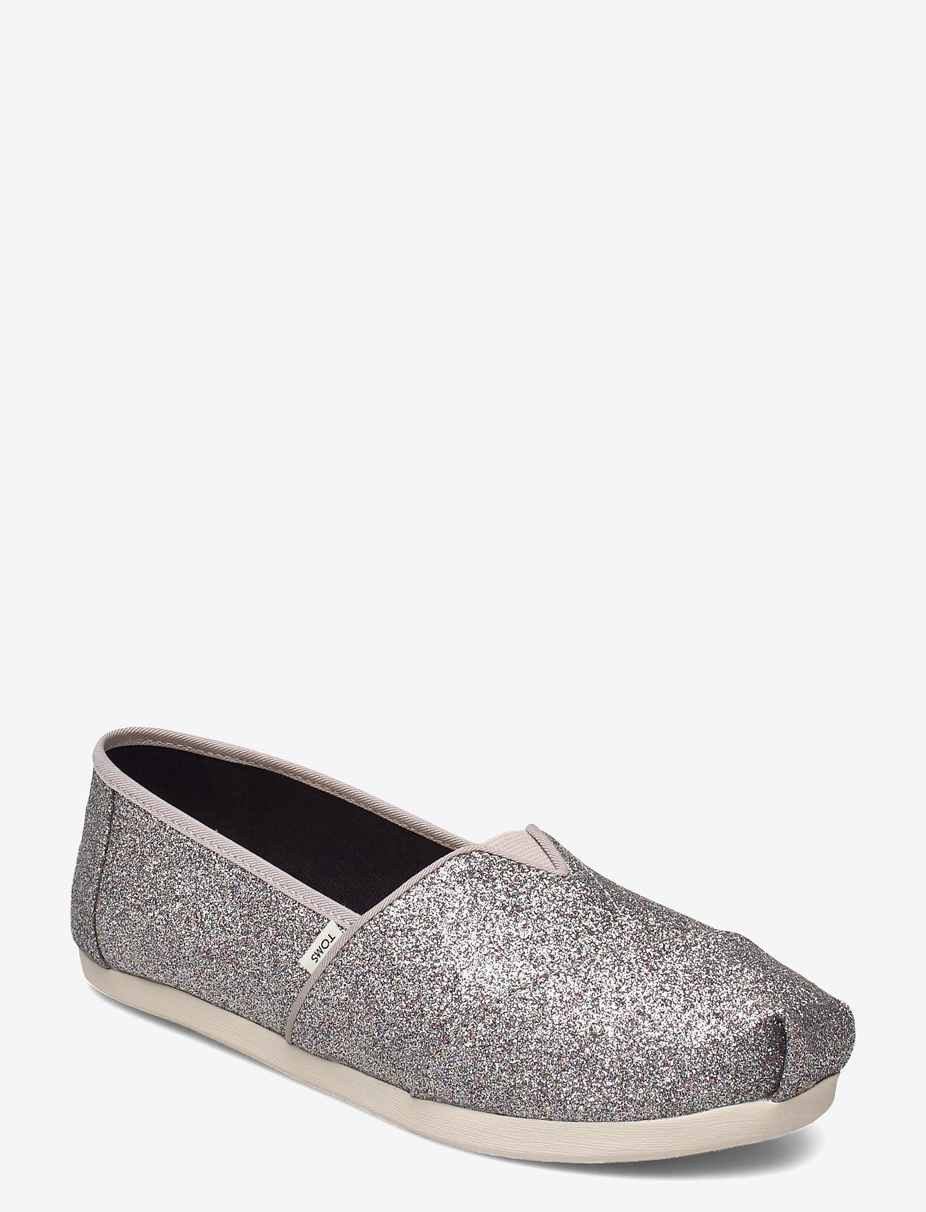 TOMS - Silver Iridescent Glimmer - platta espadriller - silver - 0