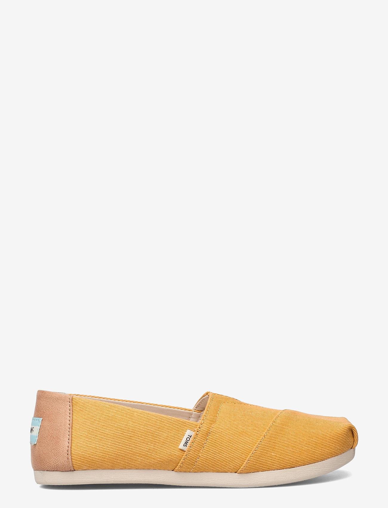 TOMS - Golden Yellow Eco Dyed Twill - platta espadriller - yellow - 1