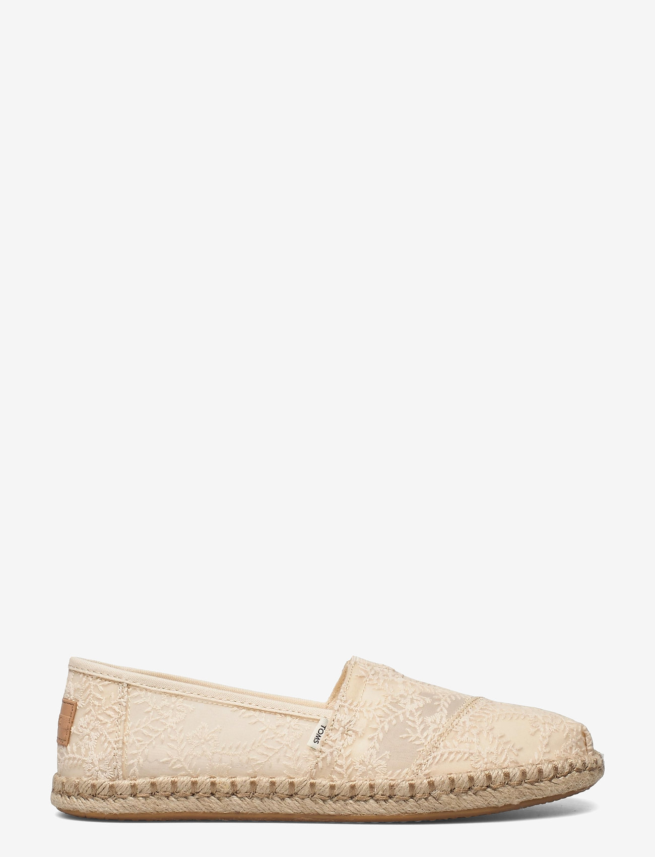 TOMS - Natural Hibiscus Floral Lace - loafers - natural - 1