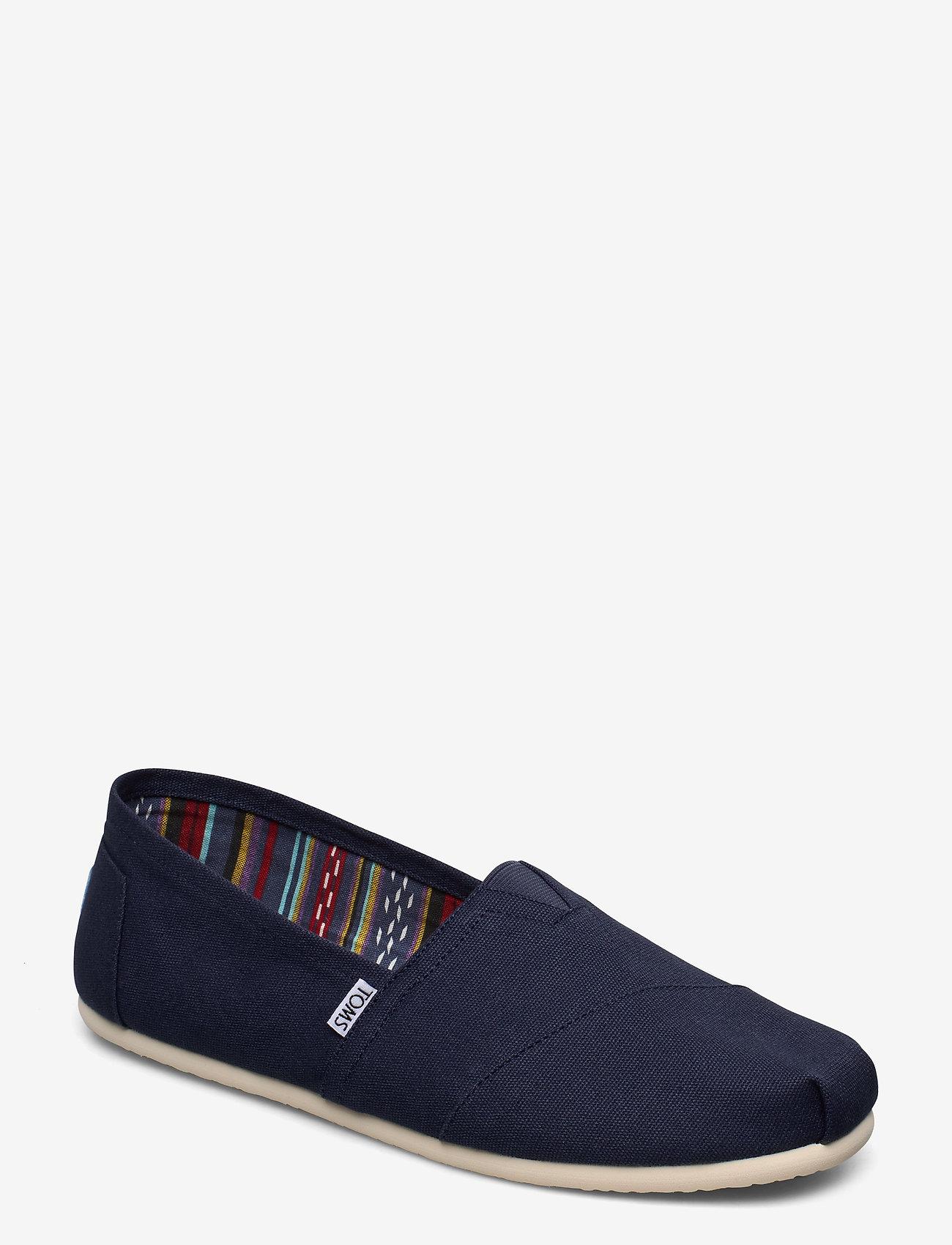 TOMS - Navy Canvas - espadrillos - navy - 0