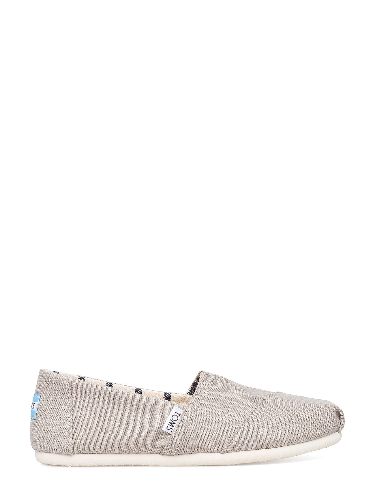 8b4adabe Grå TOMS Heritage Canvas Alpargata flade espadrillos for dame ...