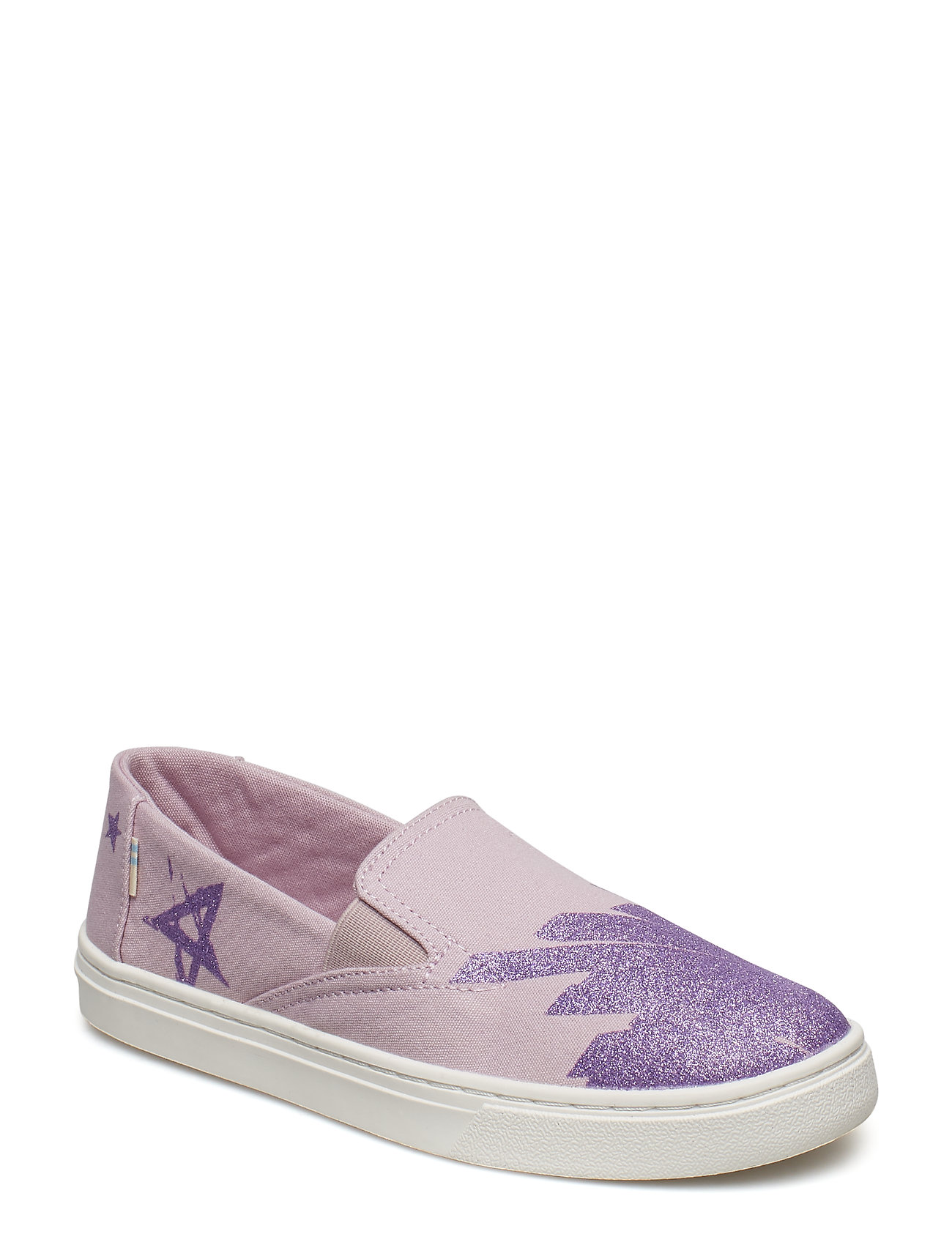 TOMS Glitter Star Canvas Luca - BURNISHED LILAC