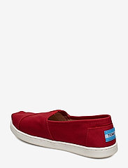 TOMS - Red Canvas - ballerinaer & slip-ons - red - 2