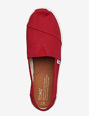 TOMS - Red Canvas - ballerinaer & slip-ons - red - 3