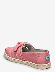 TOMS - Dye Pink Canvas - ballerinaer & slip-ons - plant dye pink - 2
