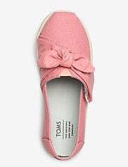 TOMS - Dye Pink Canvas - ballerinaer & slip-ons - plant dye pink - 3