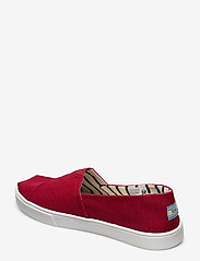 TOMS - Red Heritage Canvas - espadrillos - red - 2