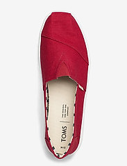 TOMS - Red Heritage Canvas - espadrillos - red - 3