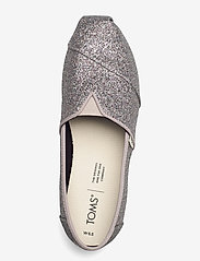 TOMS - Silver Iridescent Glimmer - platta espadriller - silver - 3