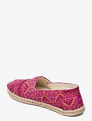 TOMS - Pink Multi Floral Woven - platta espadriller - pink - 2