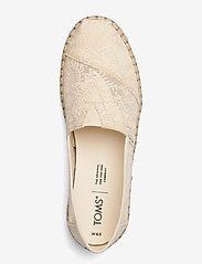 TOMS - Natural Hibiscus Floral Lace - loafers - natural - 3