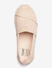 TOMS - Peony Subtle Metallic - ballerinaer & slip-ons - pink - 3