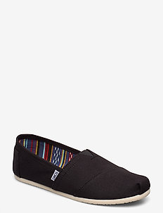 Black Canvas - espadriller - black