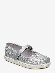 Iridescent Glimmer Mary Jane - SILVER