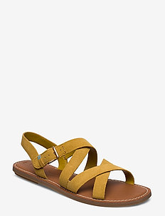 Amber Gold Suede - AMBER GOLD
