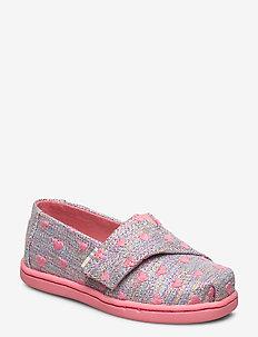 Pink Mul Heartsy - ballerinaer og slip-ons - pink multi