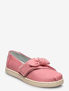 Dye Pink Canvas - ballerinaer og slip-ons - plant dye pink