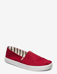 Red Heritage Canvas - espadriller - red