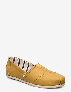 Bright Gold Heritage Canvas - slip on sneakers - bright gold