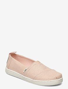 Peony Subtle Metallic - ballerinaer & slip-ons - pink