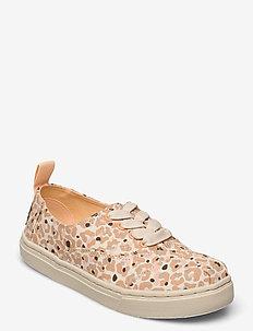 Natural Sunbleached Cheetah Print - lave sneakers - natural