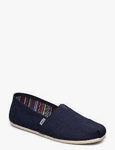 Navy Canvas - espadrillos - navy