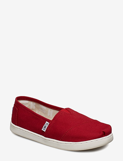 Red Canvas - ballerinaer & slip-ons - red
