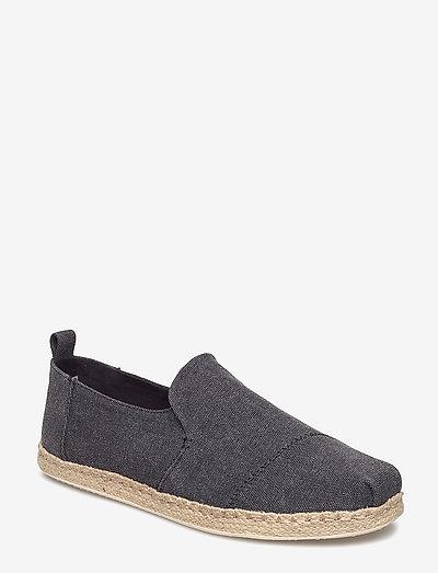Washed Canvas - kengät - black