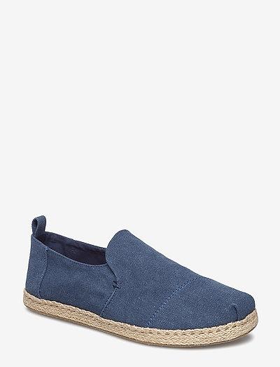Washed Canvas - kengät - navy